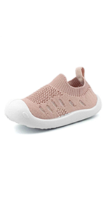 kids fashion casual mesh sneakers beach water shoes pink