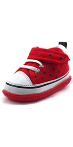 kids fashion casual sneakers first walker shoes red