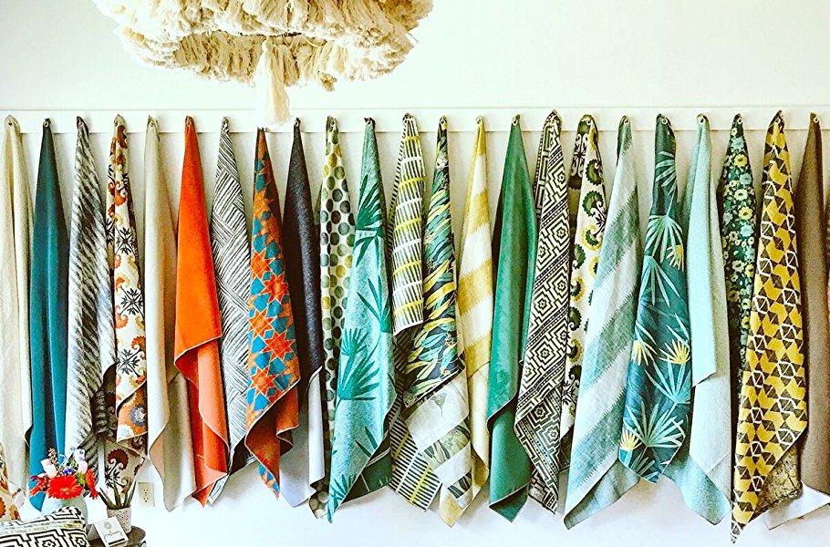 Amazon Com Robert Allen Home Handcut Shapes Orange Crush Fabric By