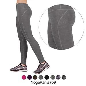 03fa29890ebd7 Amazon.com: ODODOS Power Flex Yoga Pants Tummy Control Workout Non ...