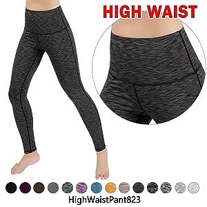 Amazon.com: ODODOS Womens High-Waist Yoga Pants Tummy ...