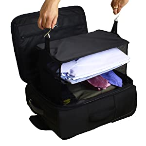 Amazon.com | Stow-N-Go Portable Luggage System - Large - Black ...
