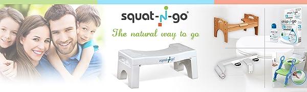 Amazon Com Squat N Go 7 Folding Squatting Stool The