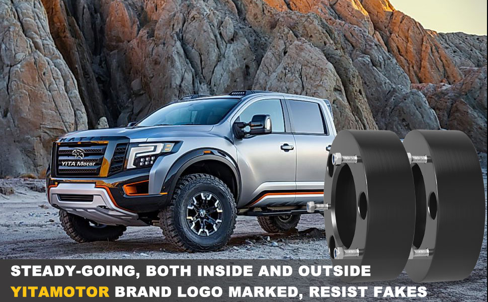 YITAMOTOR Lifts 3 inch Front Leveling Kit Forged Lift Kit Compatible for 2004-2018 Nissan Titan Armada 2WD 4WD