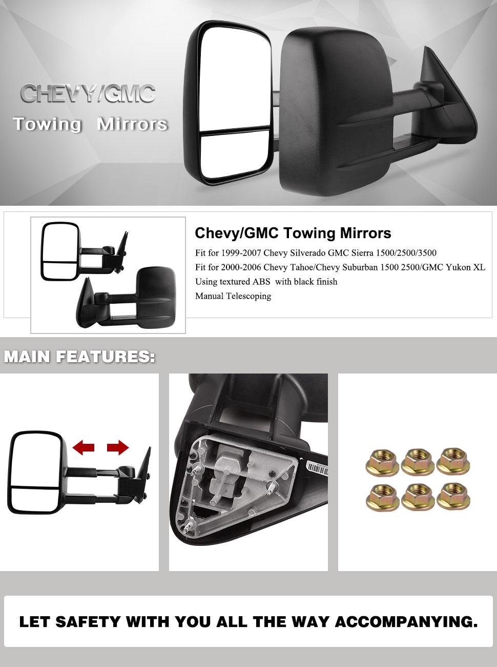 amazon com yitamotor chevy towing mirrors gmc manual no heated tow rh amazon com 99 suburban manual pdf 99 suburban manual pdf