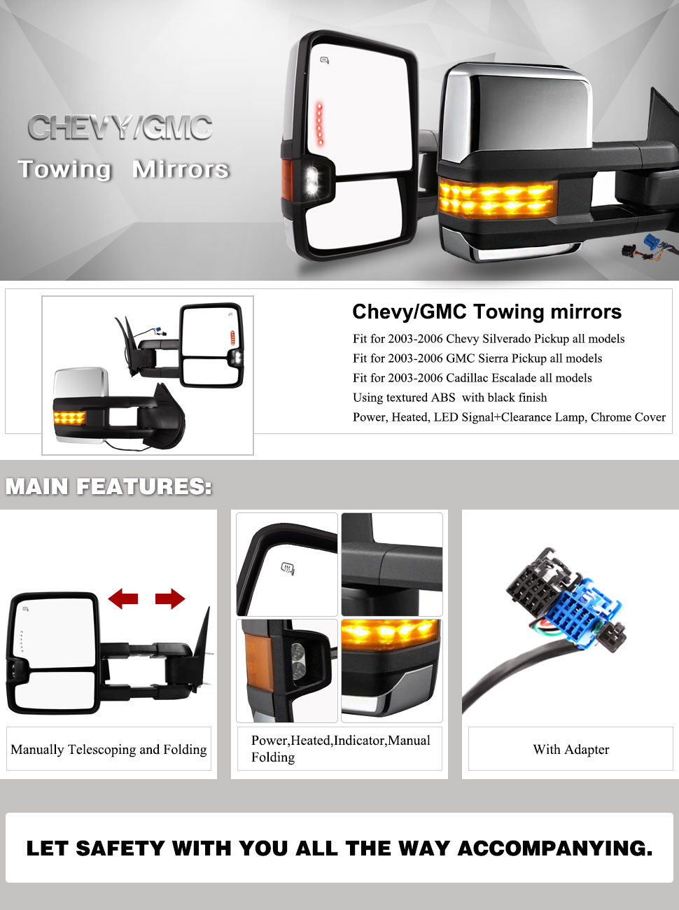 Amazon Com  Towing Mirriors For 03