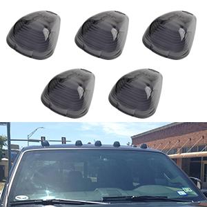 cab marker lights covers yitamotor smoke roof. Black Bedroom Furniture Sets. Home Design Ideas