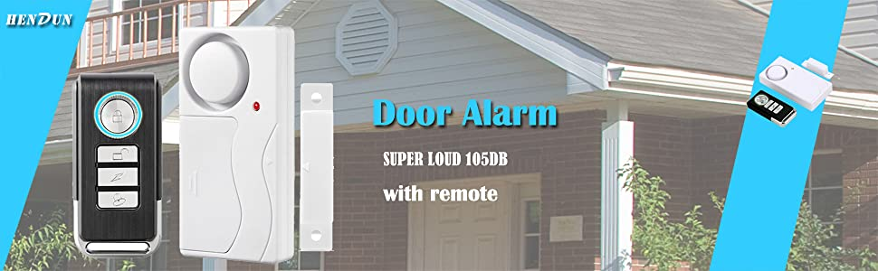 SHOP DOOR WINDOW SHED ENTRY PANIC ALERT SENSOR VISITOR SECURITY CHIME OR ALARM