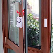 Amazon.com: Alarma de seguridad para el hogar inalámbrica ...