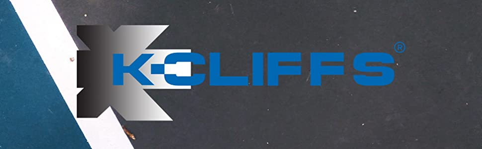 K-Cliffs KCliffs Brand Name Logo Sports Gym Backpacks Duffel Bag