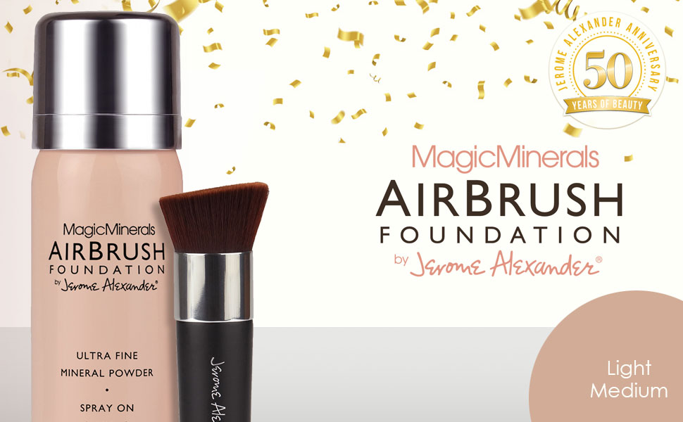 Magic Minerals Airbrush Foundation by Jerome Alexander