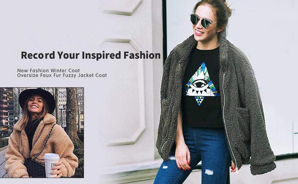 Faux Fur Winter Cardigan Coat-