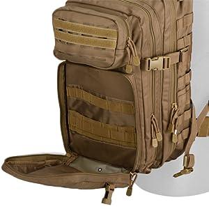 """Lancer Tactical MOLLE Backpack 45/"""" Rifle Bag Denier Nylon Adjustable Rucksack"""