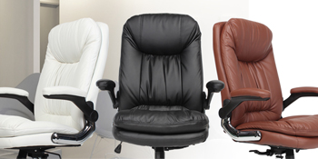 High-Back PU Leather Computer Chair Big and tall