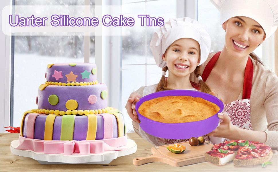 Slicone Cake Tins