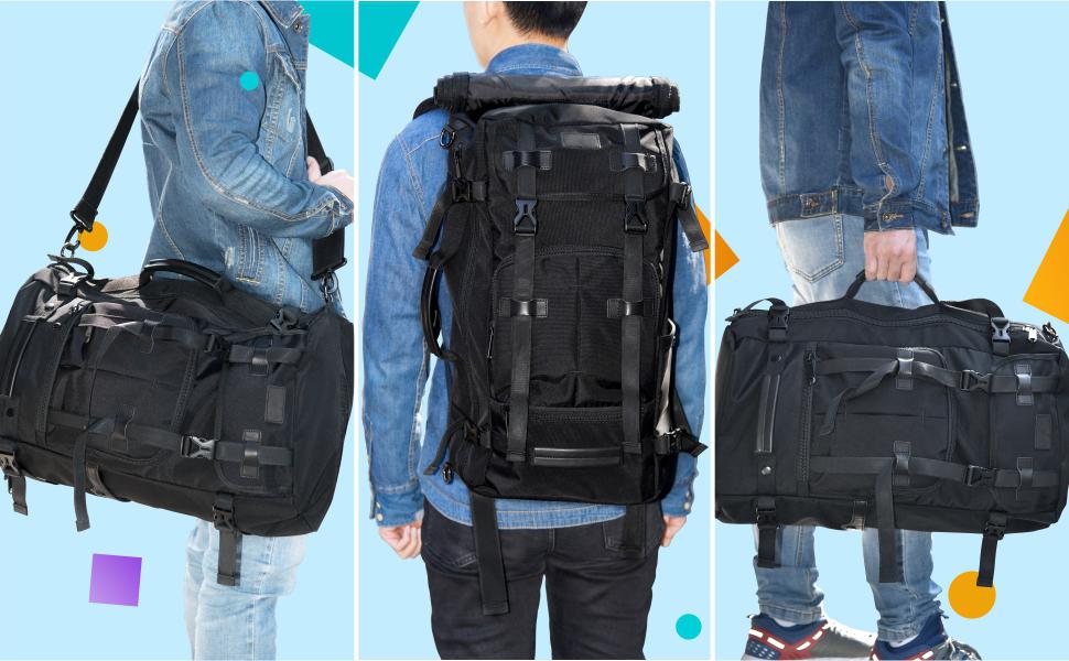 3 Carrying Methods