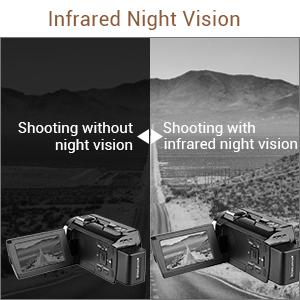4K Camcorder Video Camera 48MP 30FPS Ultra HD WiFi Digital Camera IR Night Vision