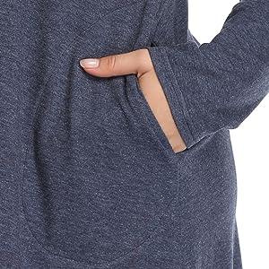 Shiaili women plus size tunic tops long trendy fancy ladies shirt gray grey navy blue 2x 3x 4x 5x 1x