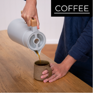 Brew Coffee pour hot drink beverage