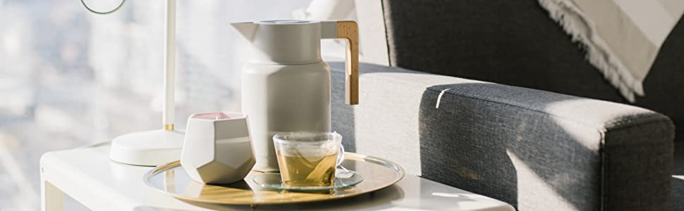 Tea and Coffee Thermal Carafe Homewares Cold Brew Heat Retention Fruit infused water