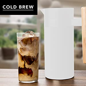 Cold Brew Coffee Ice Cool Drink Summer Beverage