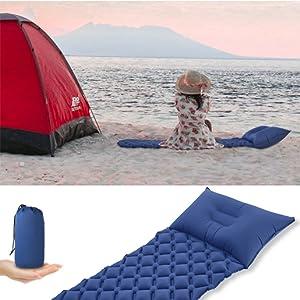 Amazon.com: OFTEN - Almohadilla para dormir, colchón de aire ...
