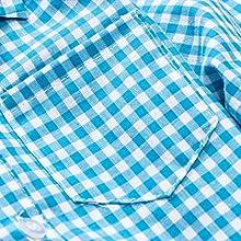 Baby & Little Boy Tuxedo Outfit, Plaids Shirt + Suspender Pants