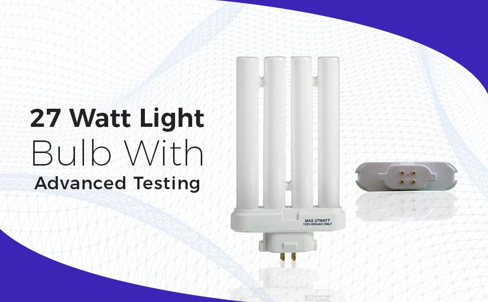 27 Watt Light Bulb