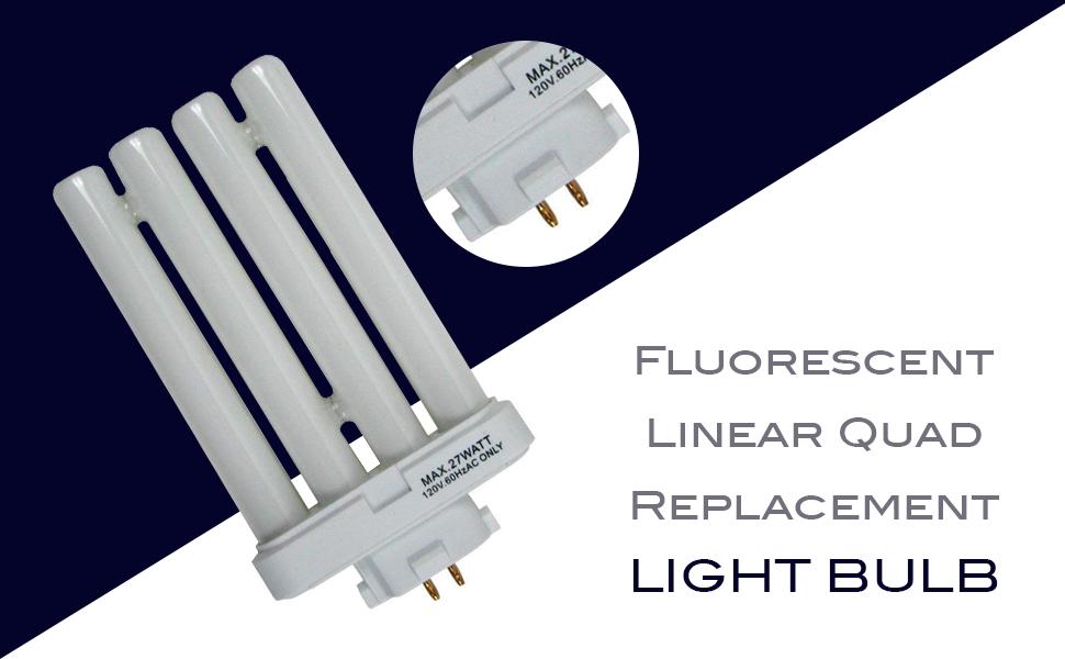 Fluorescent Linear Quad Replacement Light Bulb