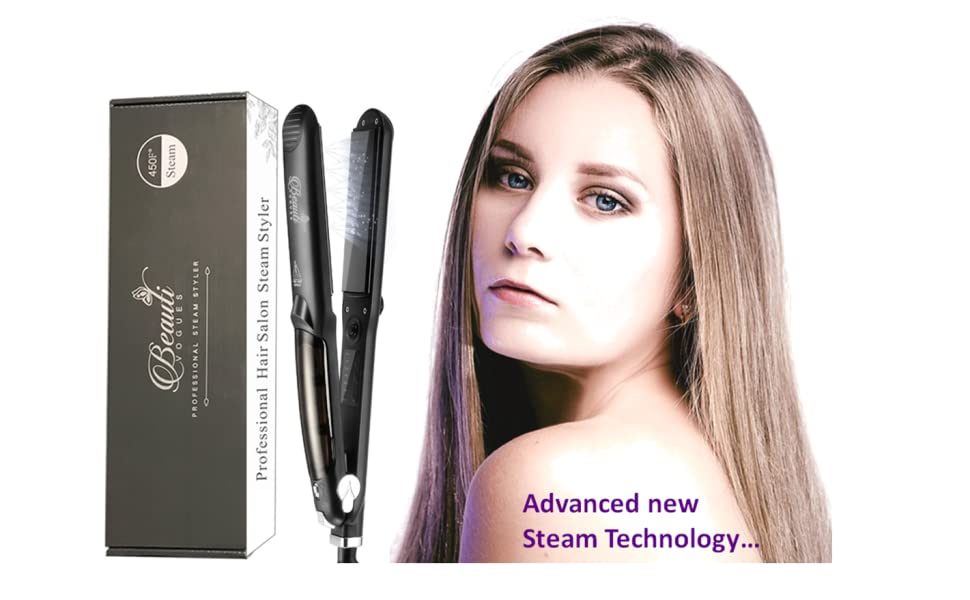 Steam hair Straightener iron flat curly professional natural ghd reopro salon straightene argan