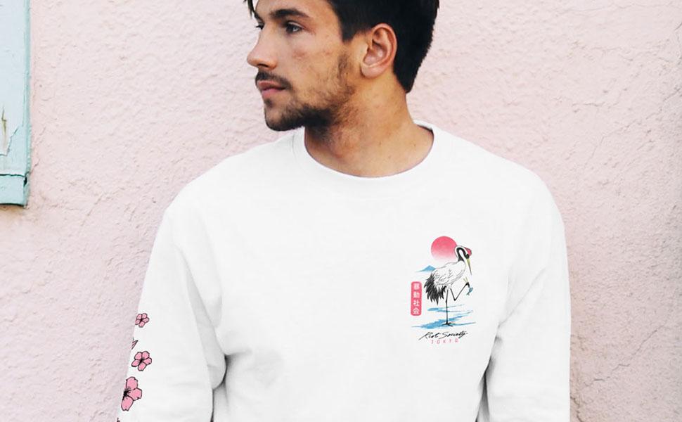 15970ad7ff98 Amazon.com: Riot Society Men's Long Sleeve Graphic Fashion T-Shirt ...
