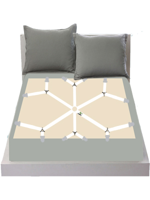 sheet holder white auivguiv