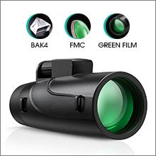 BAK4 prisms, multi-layer coating, green film