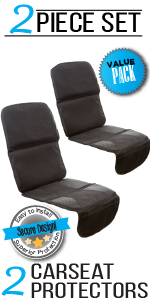 ZOHZO Car Seat Protector 2 Pack