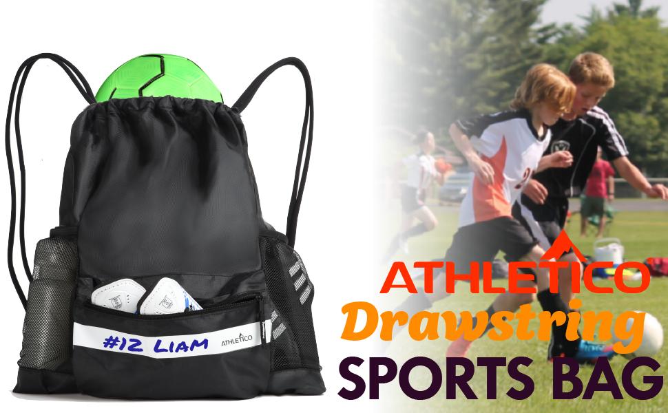 Drawstring Bags Backpack I Love Soccer Travel Backpacks Tote School Rucksack
