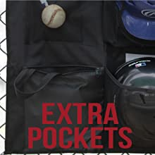 Athletico 15 Player Dugout Organizer with extra storage easy-access pockets