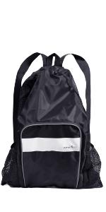 ... Athletico Mesh Swim Backpack - Black ...