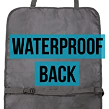Waterproof water resistant back protects car