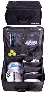 Amazon.com : Athletico Padded Golf Travel Bag - Golf Club ...