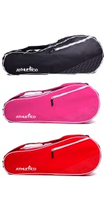 Athletico Two Racquet Tennis Racket Cover