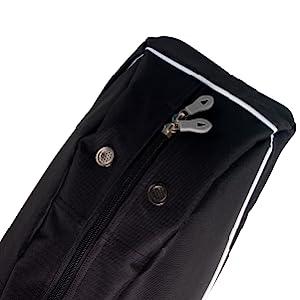 Athletico Black Diamond Trail Padded Ski Bag with Rugged Zippers