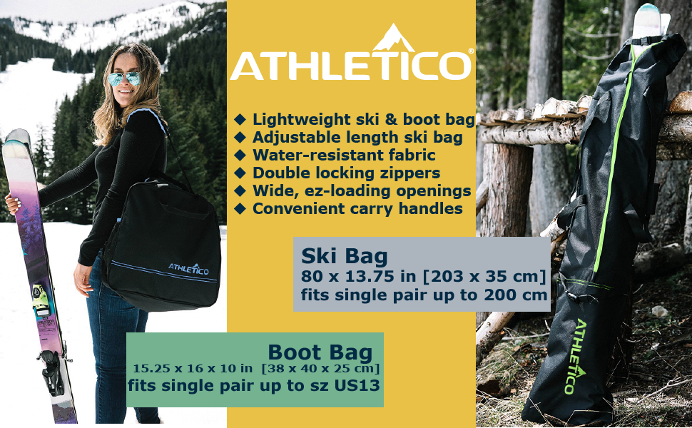 Adjustable Length - Perfect Fit for Your Skis