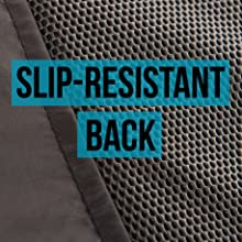 slip-resistant soft back won't damage car seat