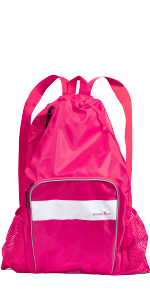 ... Athletico Mesh Swim Backpack - Pink ...
