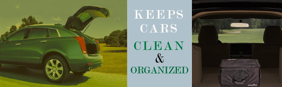 Athletico Golf Trunk Organizer - Keeps cars clean