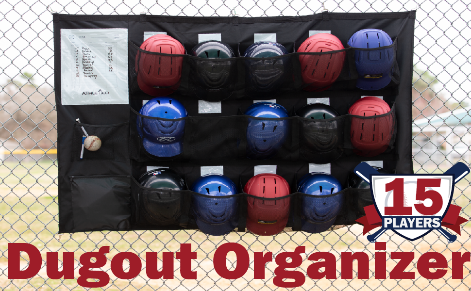 Athletico 15 Player Performance Dugout Organizer