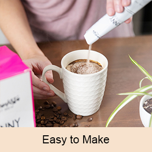 This easy to make coffee mix won't waste your time.