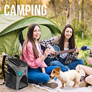pet dog cat camping beach picnic zipper panel openings