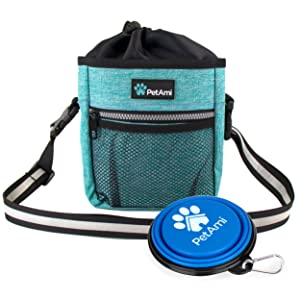 dog walking hiking fanny pack