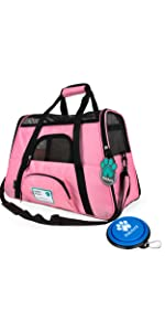 Airline Approved Small Pet Carrier Tote Bag